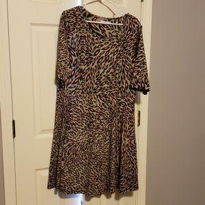 Triste Leopard Animal Print Dress